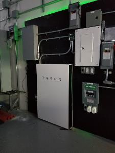 MPOWER Energy Solutions Test Lab Powerwall 2
