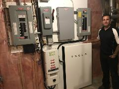 KCP Energy's Master Electrician Nick Crotty & 1st Powerwall Install