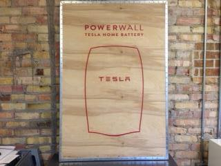Powerwall 1 container