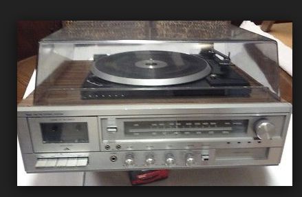 1980s stereo system